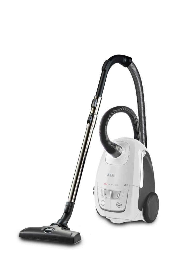 AEG Bodenstaubsauger VX8-2-6IW, 600 Watt, beutellos, Extraleise durch Silent Air Technology, waschbarer Hygiene-Filter, ergonomische Form