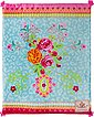 Plaid »Wild Rose«, Happiness, mit Pompons, Bild 3