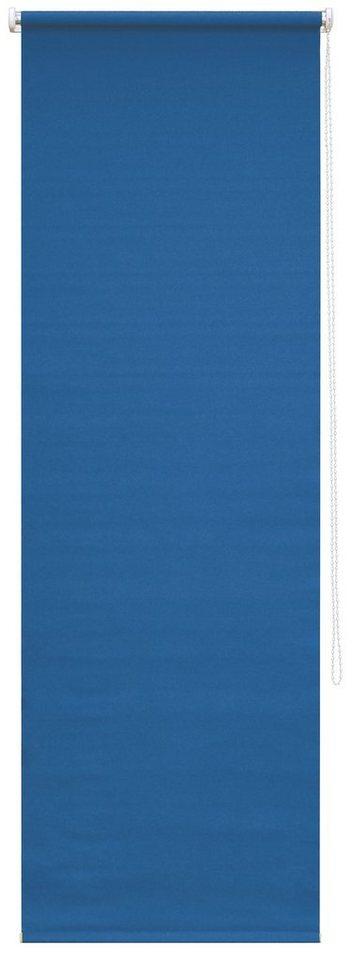 Seitenzugrollo, Good Life, »Luna W«, nach Wunschmaß, Verdunkelung (1 Stck.) in navy