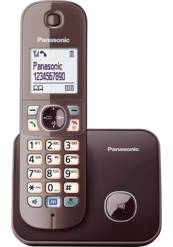 PANASONIC »KX-TG6811GS« Bevielis DECT-Telefon (M...