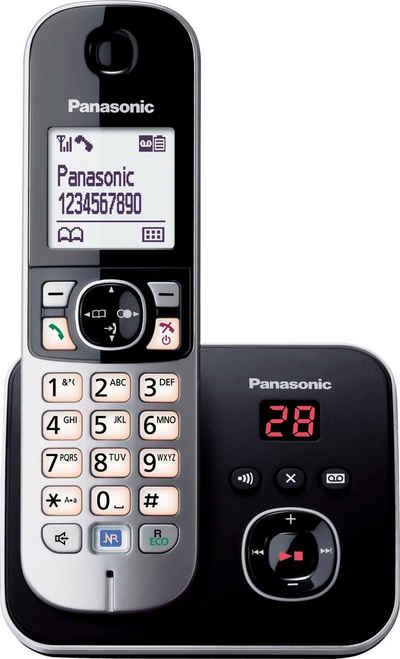 Panasonic »KX-TG6821G« Schnurloses DECT-Telefon (Mobilteile: 1, mit Anrufbeantworter)