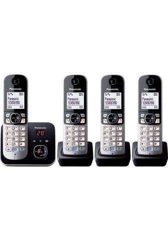 PANASONIC »KX-TG6824GB« Bevielis DECT-Telefon (M...