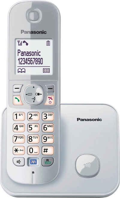 Panasonic »KX-TG6811GS« Schnurloses DECT-Telefon (Mobilteile: 1, mit Anrufer- und Wahlsperre)