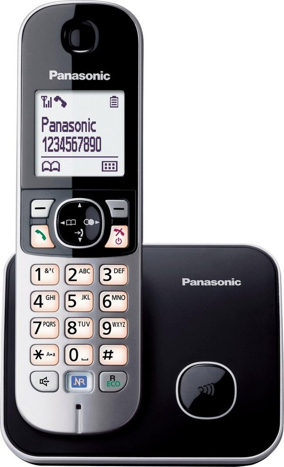 panasonic kx tg6811gs schnurloses dect telefon. Black Bedroom Furniture Sets. Home Design Ideas