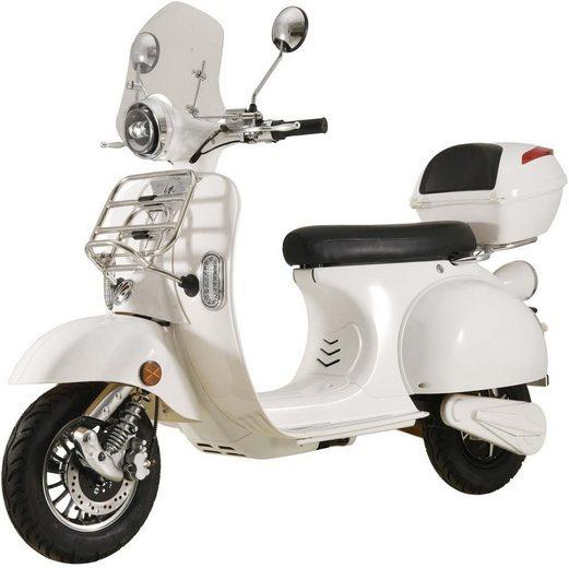 ELEKTROROLLER FUTURA E-Motorroller »Classico Li Windschild«, 3000 W, 45 km/h