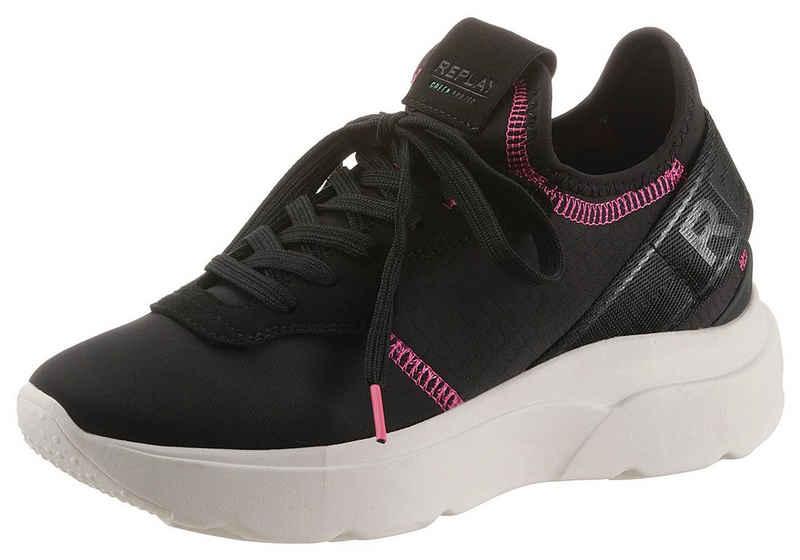 Replay »MAYFAIR-FAIRWOD« Slip-On Sneaker mit Kontrastnähten