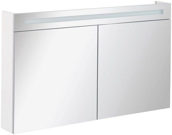 FACKELMANN Spiegelschrank »CL 120 - weiß«, Breite 120 cm, 2 Türen