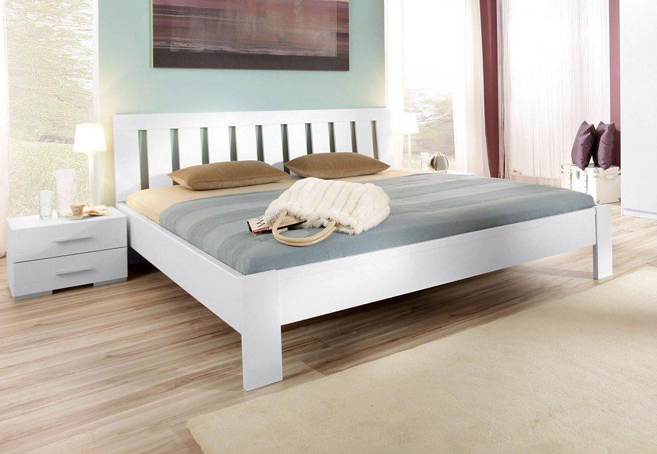 rauch Bett, Made in Gemany in weiß