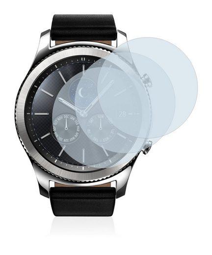 BROTECT Schutzfolie »Panzerglas für Samsung Gear S3 Classic«, (3 Stück), Schutzglas Echtglas 9H