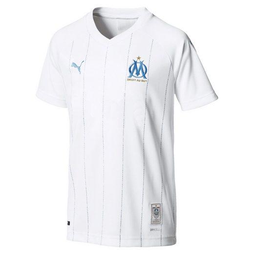 PUMA Trainingsshirt »Olympique de Marseille Jungen Replica Heimtrikot«
