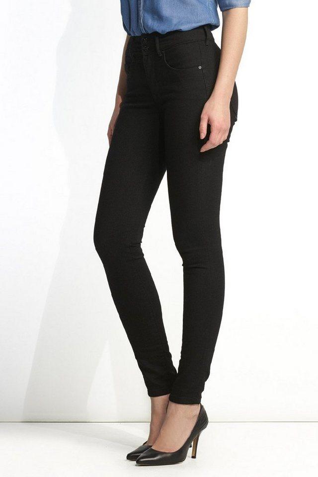 salsa jeans Jean »Push In/ Secret« in Black