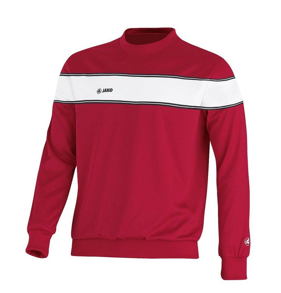 JAKO Sweat Player Herren in rot/weiß