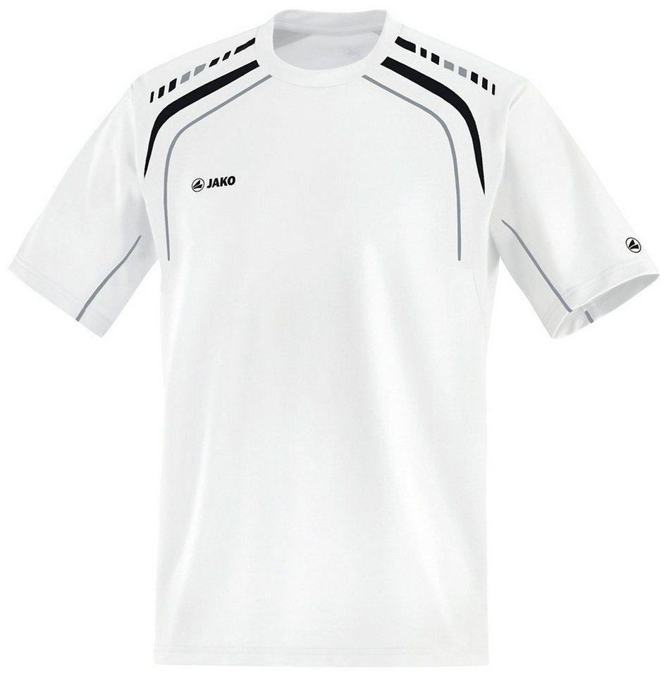 JAKO T-Shirt Champion Herren in weiß/schwarz/grau