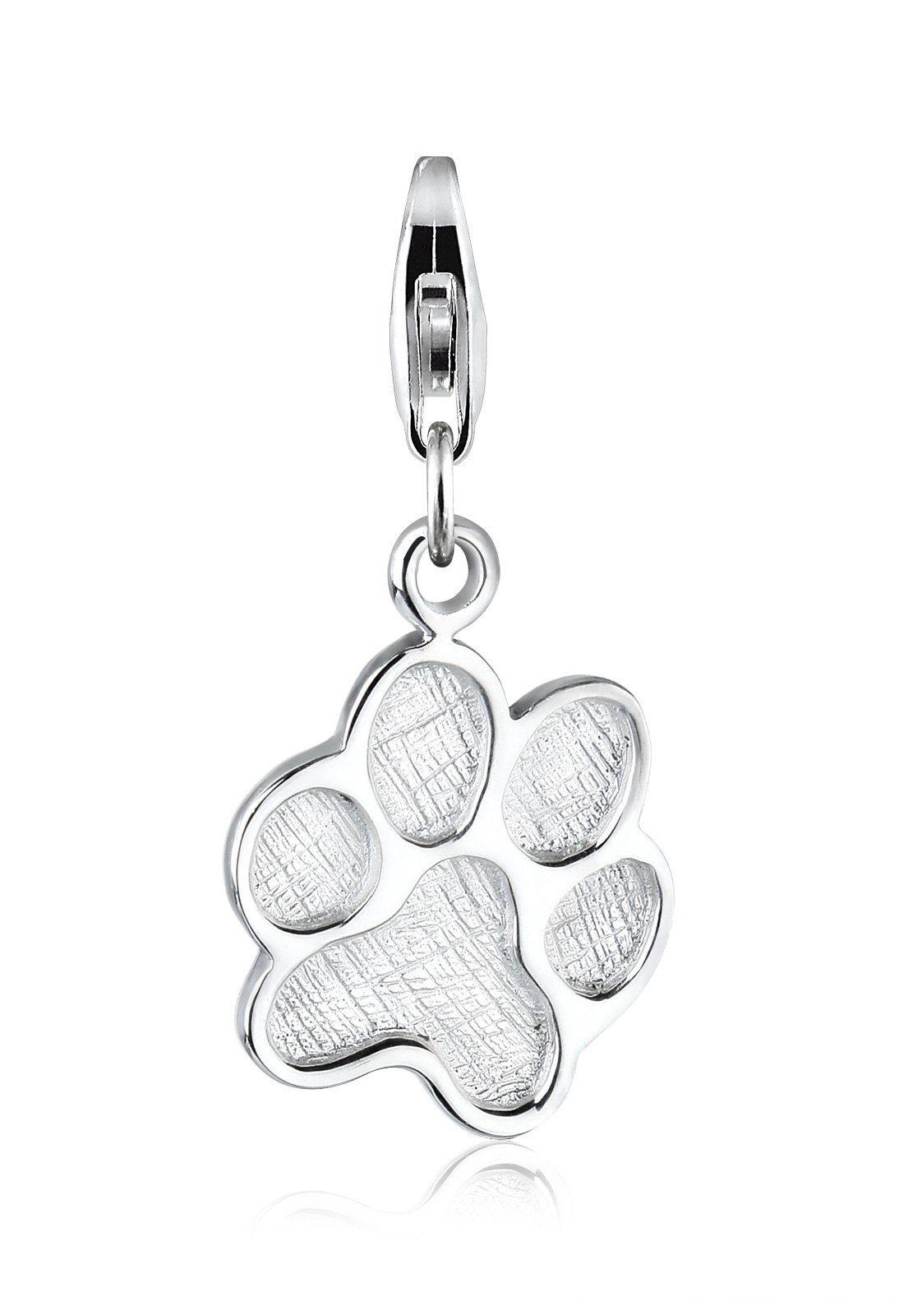 Elli Charm »Katzenpfote Tier 925 Silber«