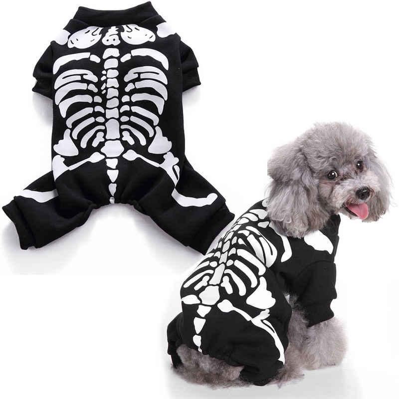 Rosnek Hundepullover »Halloween,Horror Skelett,Für Haustier Hund Katzen«, in verschiedenen Größen