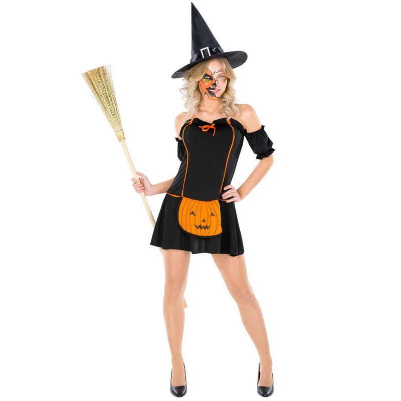 dressforfun Hexen-Kostüm »Frauenkostüm Pumpkin Witch«