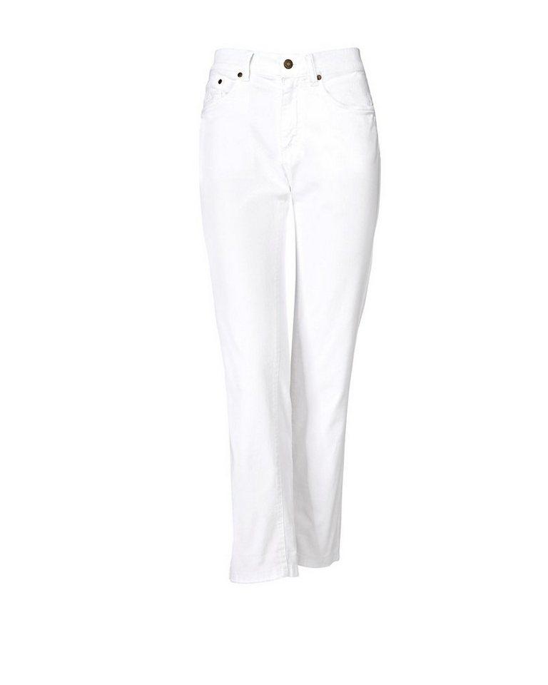 Brigitte von Schönfels 7/8-Jeans in Weiß
