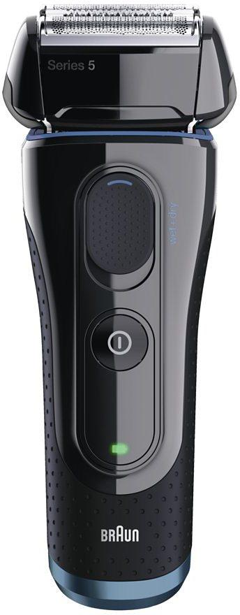 Braun Elektrorasierer Series 5 5040s Wet&Dry, Akku in schwarz
