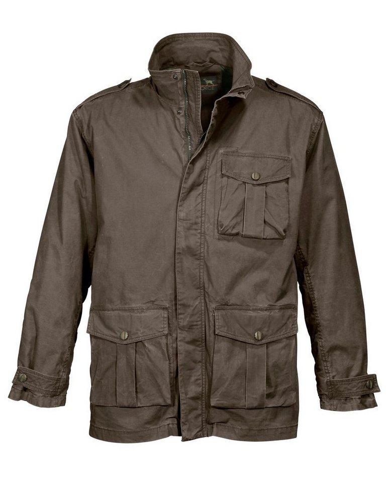 Parforce Jacke mit Zeckenschutz in Braunoliv
