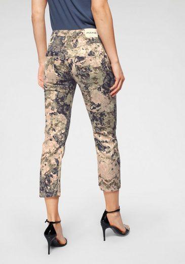 Please Jeans Röhrenhose »P36H« im Barock-Allover-Design