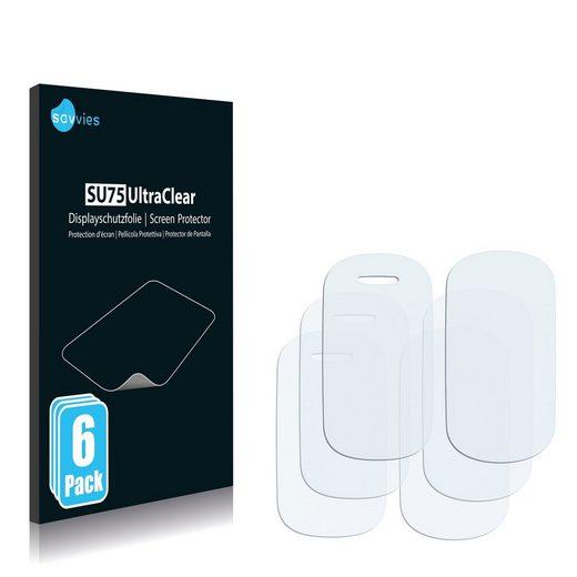 Savvies Schutzfolie »für Alcatel One Touch OT-361«, (6 Stück), Folie Schutzfolie klar