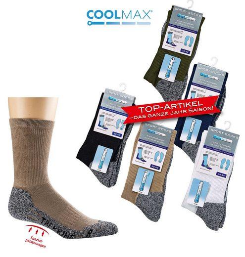 Mein Style Wandersocken »Coolmax Trekking Socken« (1-Paar)