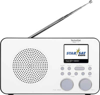 TechniSat »VIOLA 2 C IR Tragbares« Internet-Radio (Digitalradio (DAB), UKW mit RDS, Internetradio, mit DAB+, Farbdisplay, Akku)