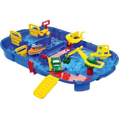 """Aquaplay Wasserbahn »tragbare Wasserbahn """"Lock Box"""", 85 x 65 cm«"""