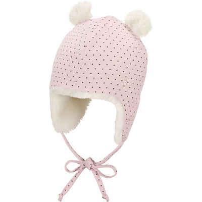 Sterntaler® Bommelmütze »Baby Bommelmütze für Mädchen«
