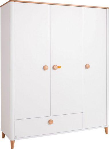 PAIDI Drehtürenschrank »Lotte & Fynn« Steiff by Paidi, 3-türig inkl. einer großen Schublade
