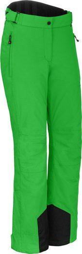 Bergson Skihose »FROSTY RACE« Damen Skihose, wattiert, 12000 mm Wassersäule, Kurzgrößen, grün