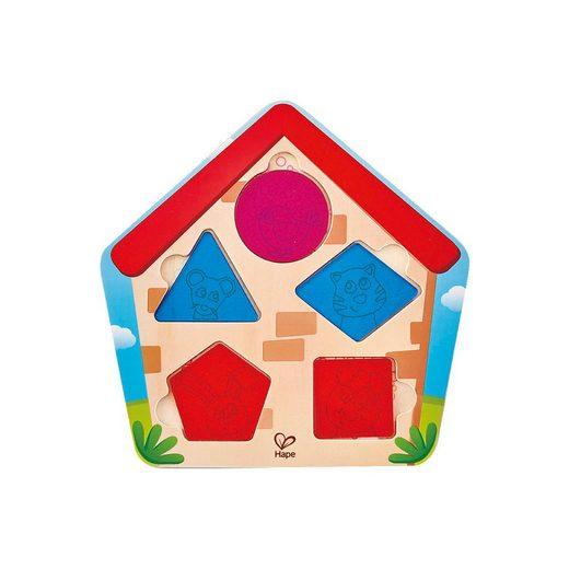 Hape Steckpuzzle »Haus-Suchpuzzle«, Puzzleteile