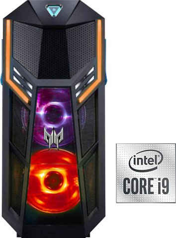 Acer Predator Orion 5000 (PO5-615s) Gaming-PC (Intel® Core i9 10900K, RTX 3080, 32 GB RAM, 3000 GB HDD, 1024 GB SSD, Wasserkühlung)