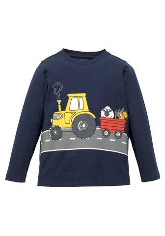 KIDSWORLD Marškinėliai ilgomis rankovėmis »TREKK...