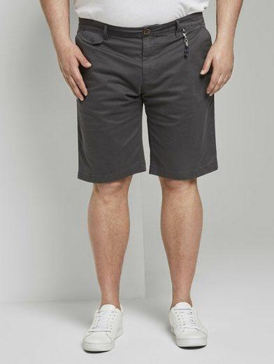 TOM TAILOR Men Plus Shorts »Josh Regular Slim Chino Shorts«