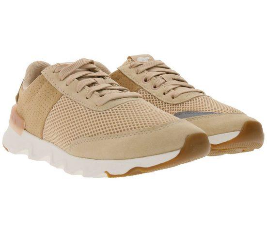 Sorel »SOREL Kinetic Lite Lace Sneaker modische Damen Turn-Schuhe Low Top-Sneaker Beige« Sneaker