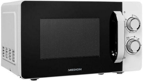 Medion® Mikrowelle MD 18687, Mikrowelle, 20 l, 6 Leistungsstufen