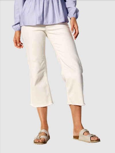 Laura Kent 5-Pocket-Jeans mit offenen Kanten