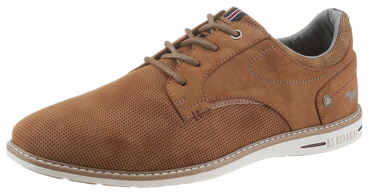 mustang shoes -  Schnürschuh mit gepolstertem Schaftrand
