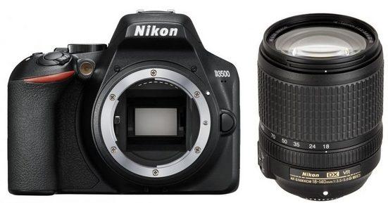 Nikon »D3500 + AF-S DX 18-140mm f3,5-5,6G ED VR« Spiegelreflexkamera