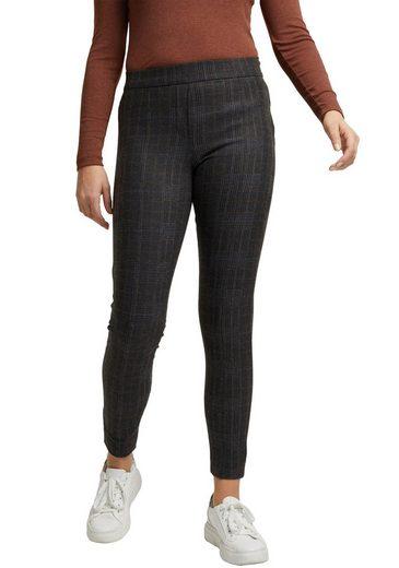 Esprit Stretch-Hose mit Formbund und seitlichem Reißverschluss