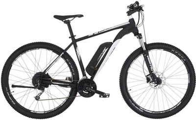 FISCHER Fahrräder E-Bike »EM 1724.1«, 24 Gang Shimano Deore Schaltwerk, Kettenschaltung, Heckmotor 250 W