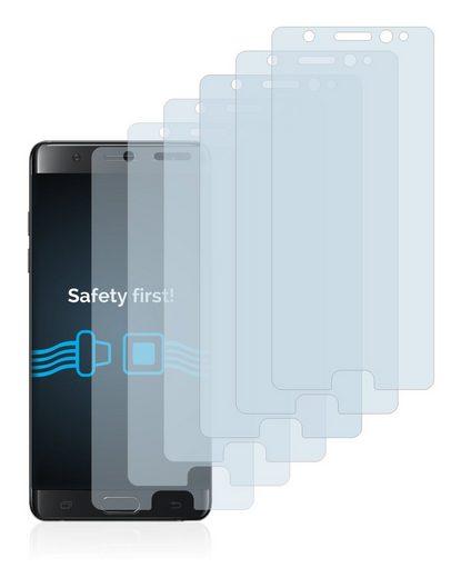 Savvies Schutzfolie »für Samsung Galaxy Note FE«, (6 Stück), Folie Schutzfolie klar