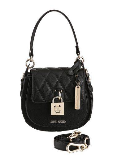 STEVE MADDEN Mini Bag, mit goldfarbenen Details und Ziersteppung