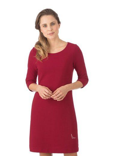 Trigema Kleid mit Swarovski® Kristallen