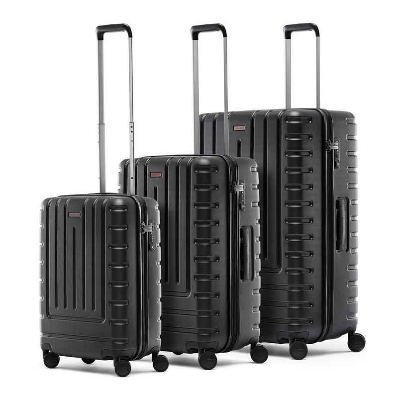 REISENTHEL® Reisetasche »suitcase set 3er Set Iconic Shell Black«