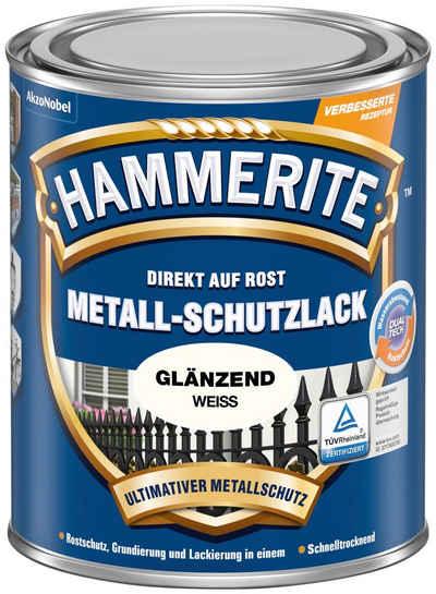Hammerite Metallschutzlack »Glänzend«, 0,75 Liter, weiß