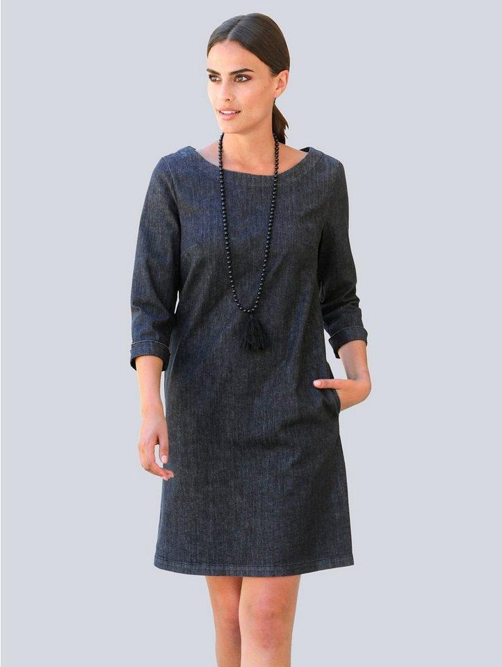 alba moda -  Jeanskleid in modischer Hängerform