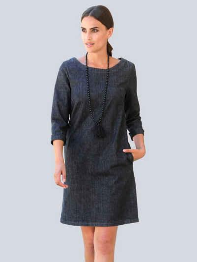Alba Moda Jeanskleid in modischer Hängerform