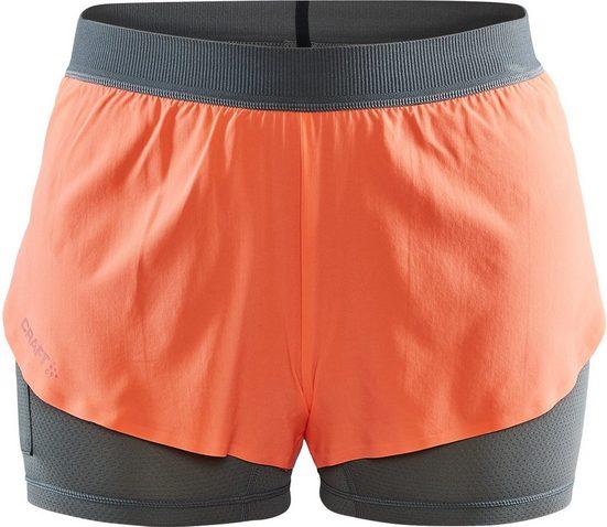 Craft Hose »Vent 2-In-1 Racing Shorts Damen«